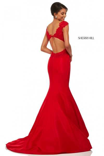 Sherri Hill 52772 Off The Shoulder picture 1