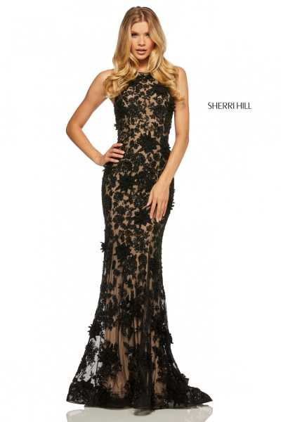 Sherri Hill 52778 High Neck picture 1