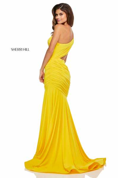 Sherri Hill 52789 One Shoulder picture 1