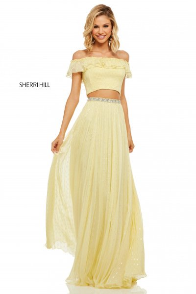 Yellow Prom Dresses Formal Gowns Sexy Homecoming Cheap