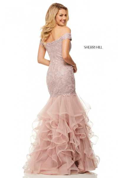 Sherri Hill 52811 Off The Shoulder picture 1