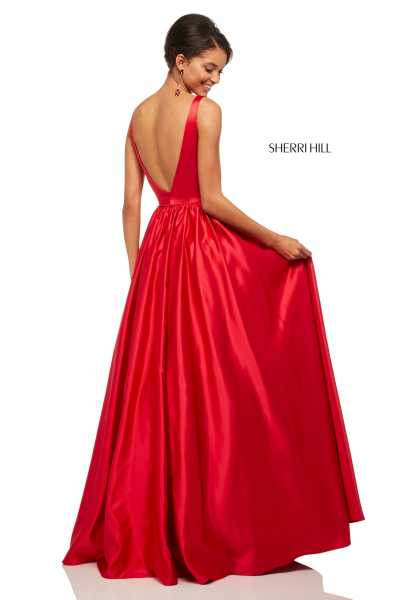 Sherri Hill 52813 Has Straps picture 1