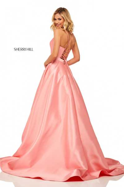 Sherri Hill 52821 Has Straps picture 1
