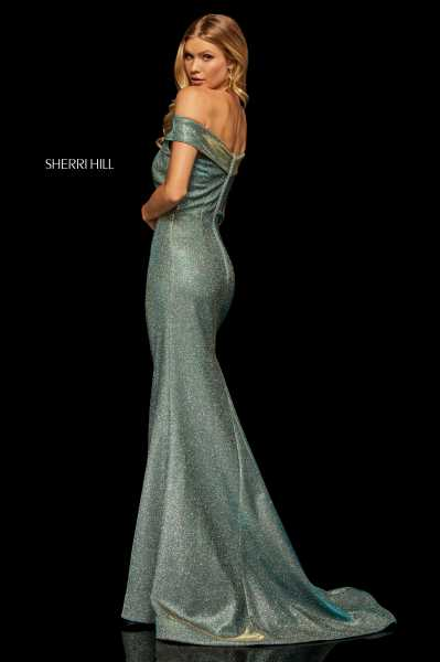 Sherri Hill 52825 Off The Shoulder picture 1