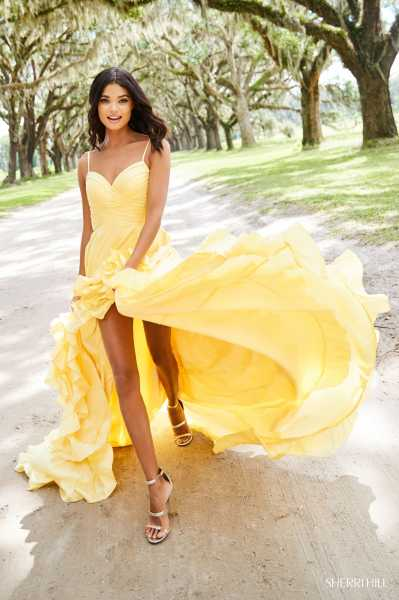 Sherri Hill 52834 High-Low picture 3