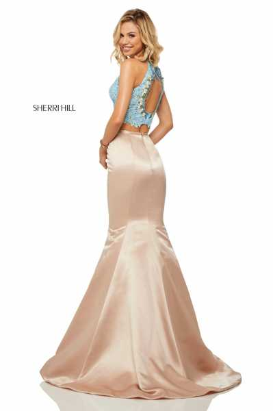 Sherri Hill 52851 Fitted, Mermaid and Two Piece picture 2