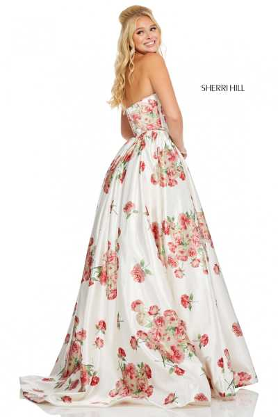 Sherri Hill 52867 Strapless picture 1
