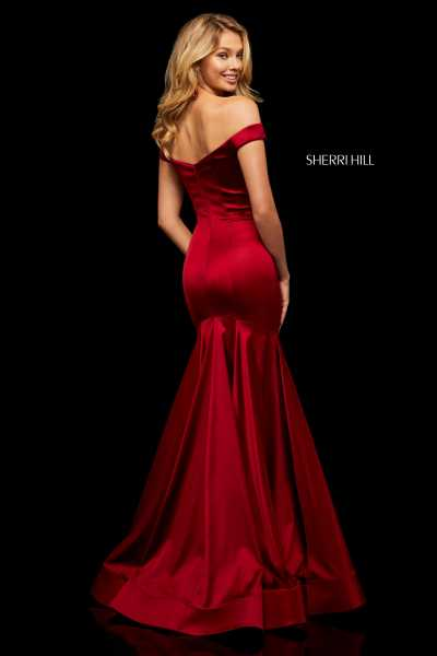 Sherri Hill 52885 Off The Shoulder picture 1