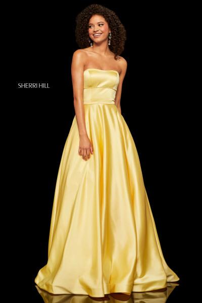 b7d997c0 Sleeveless Flowing Chiffon Evening Dress $299.00. Sherri Hill 52924