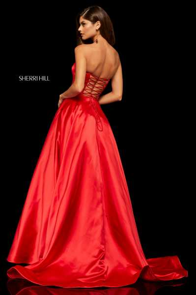 Sherri Hill 52924 Strapless picture 1