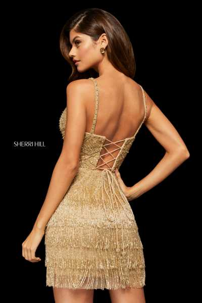 Sherri Hill 52938 Has Straps picture 1
