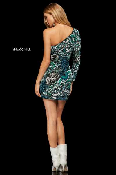 Sherri Hill 52939 One Shoulder picture 1