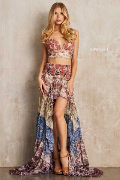 Sherri Hill 52950 Fitted and Two Piece picture 2