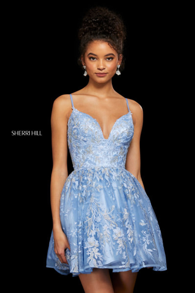 Sherri Hill 53074 Has Straps picture 1