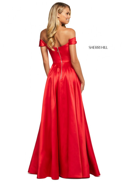 Sherri Hill 53399 Off The Shoulder picture 1