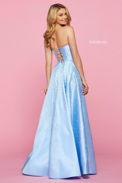 Sherri Hill 53421 Strapless picture 1