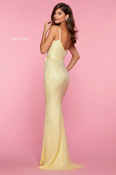 Sherri Hill 53493 Has Straps picture 1