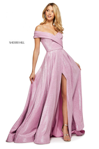 Sherri Hill 53499 Off The Shoulder picture 1