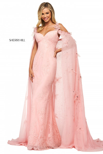 Sherri Hill 53822 Has Straps picture 1
