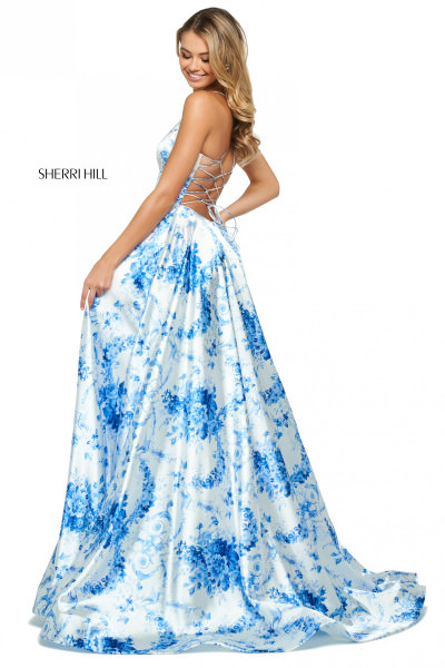 Sherri Hill 53886 V-Shape picture 1