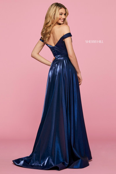 Sherri Hill 53324 Off The Shoulder picture 1