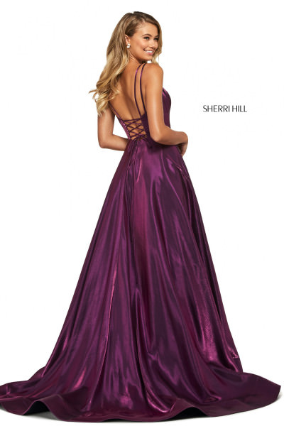 Sherri Hill 53548 Has Straps picture 1