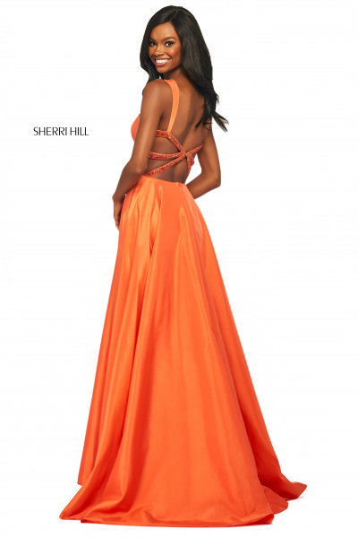 Sherri Hill 53561 Has Straps picture 1