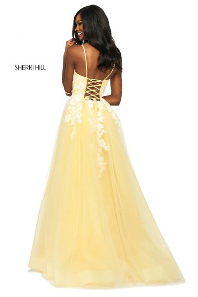 Sherri Hill 53730 V-Shape picture 1