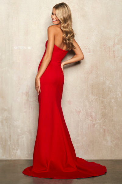 Sherri Hill 54186 Strapless and Sweetheart picture 1