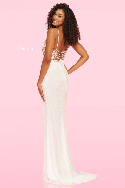 Sherri Hill 54236 Has Straps and Sweetheart picture 1
