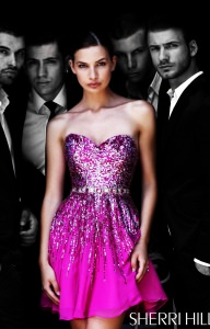 Sherri Hill 8413 Strapless and Sweetheart picture 1