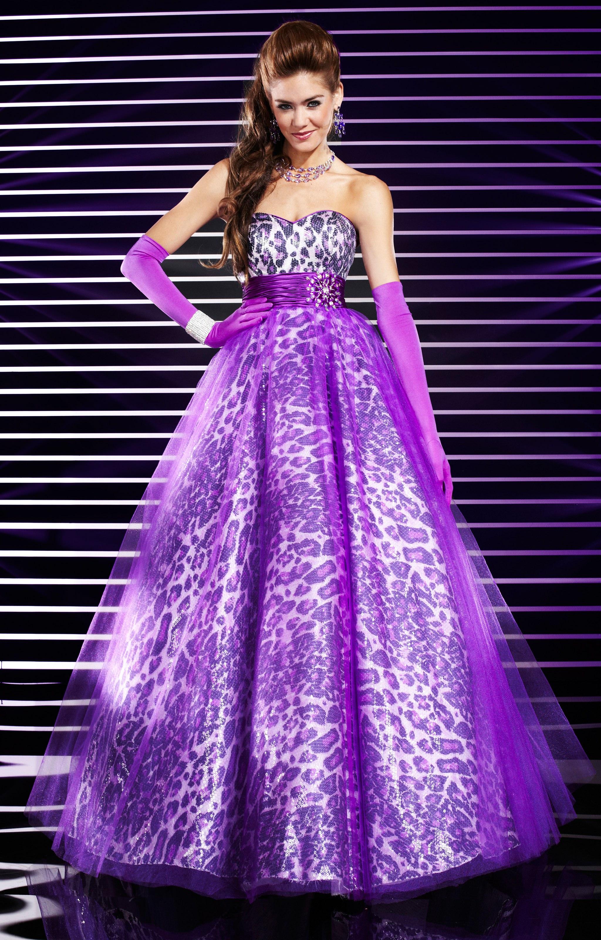 18c9759b52 Studio 17 12313 - Leopard Print Gown Prom Dress