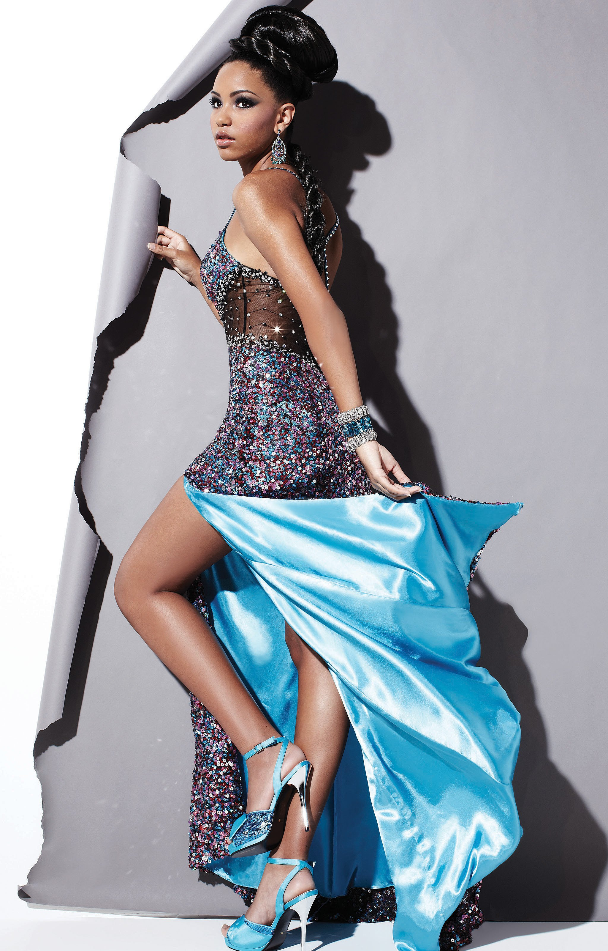 Studio 17 12380 - Center of Attention Gown Prom Dress