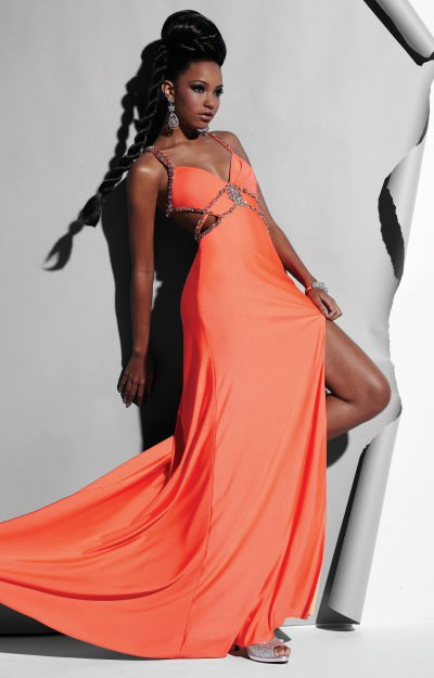 Bold and Beautiful Back Gown