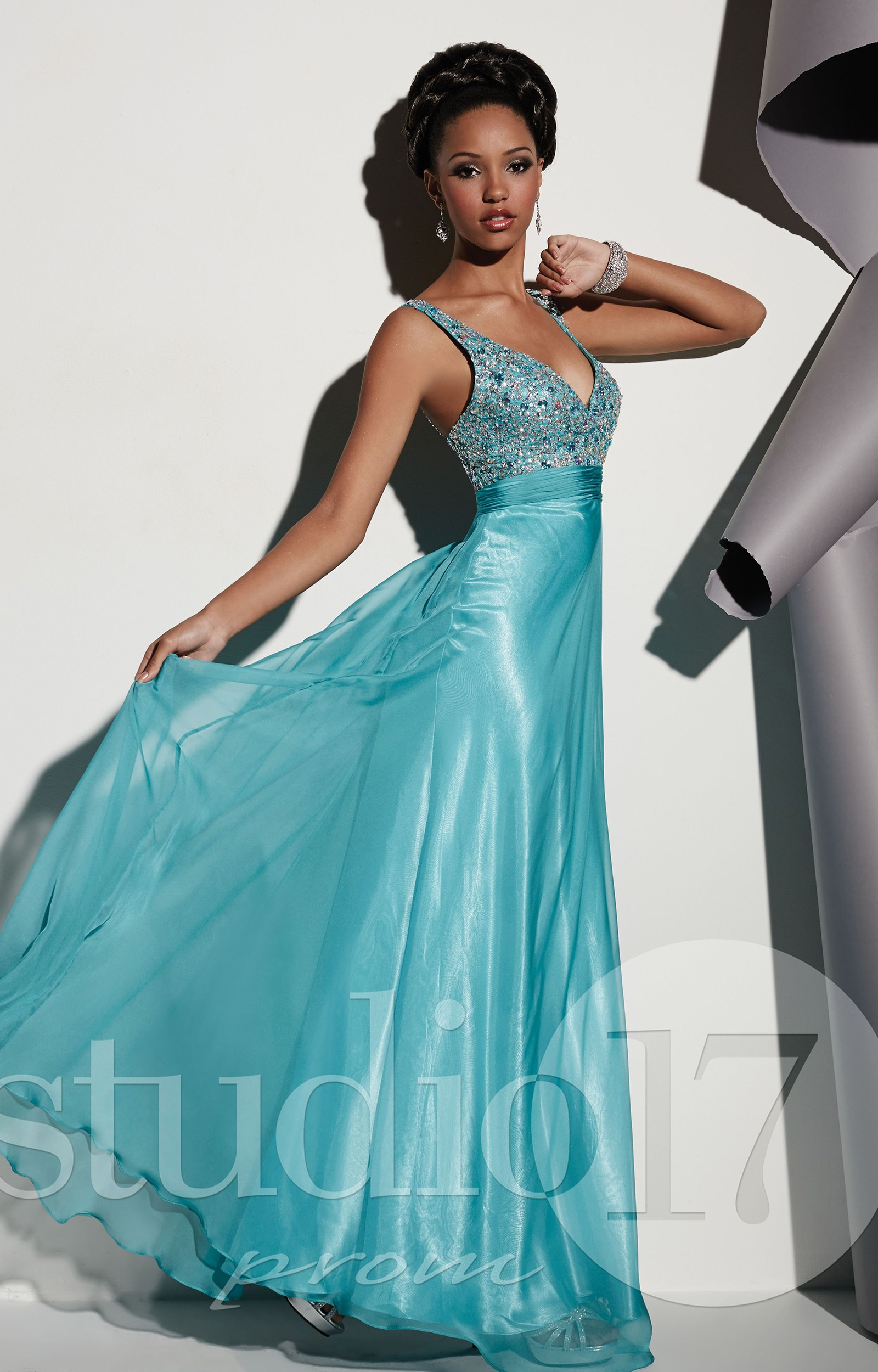 Studio 17 12449 - Own the Night Gown Prom Dress