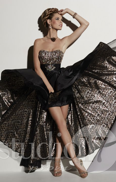 Studio 17 12466 Daring Diva Gown Prom Dress