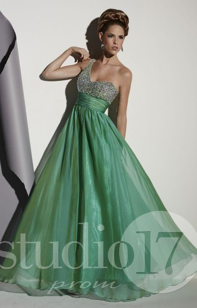 One Shoulder Stunner Gown
