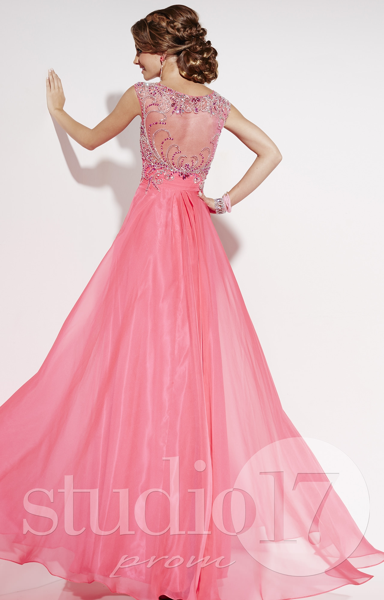 Studio 17 12551 Reach For The Stars Gown Prom Dress