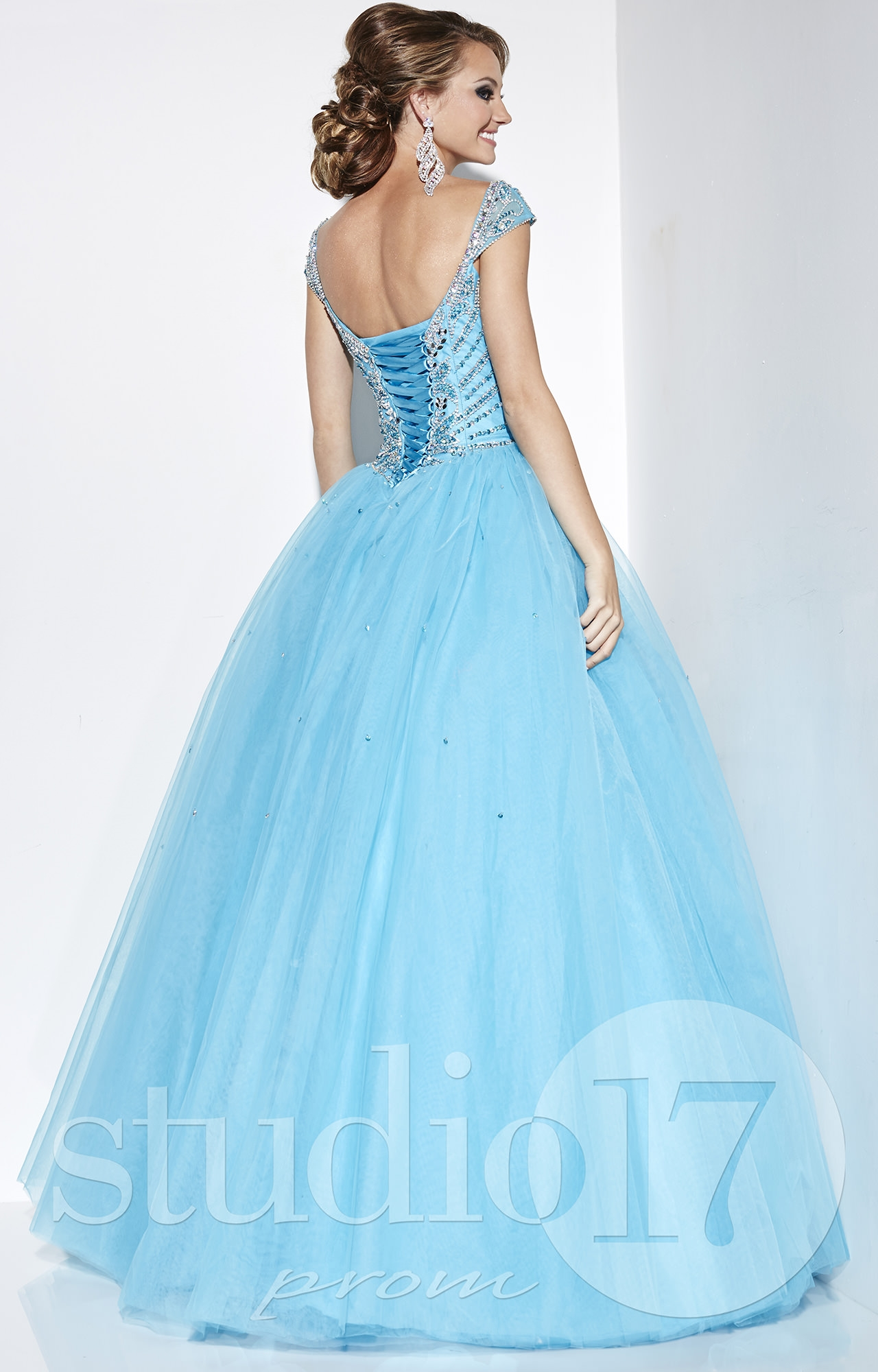 Studio 17 12589 - Cinderella Ball Gown Prom Dress