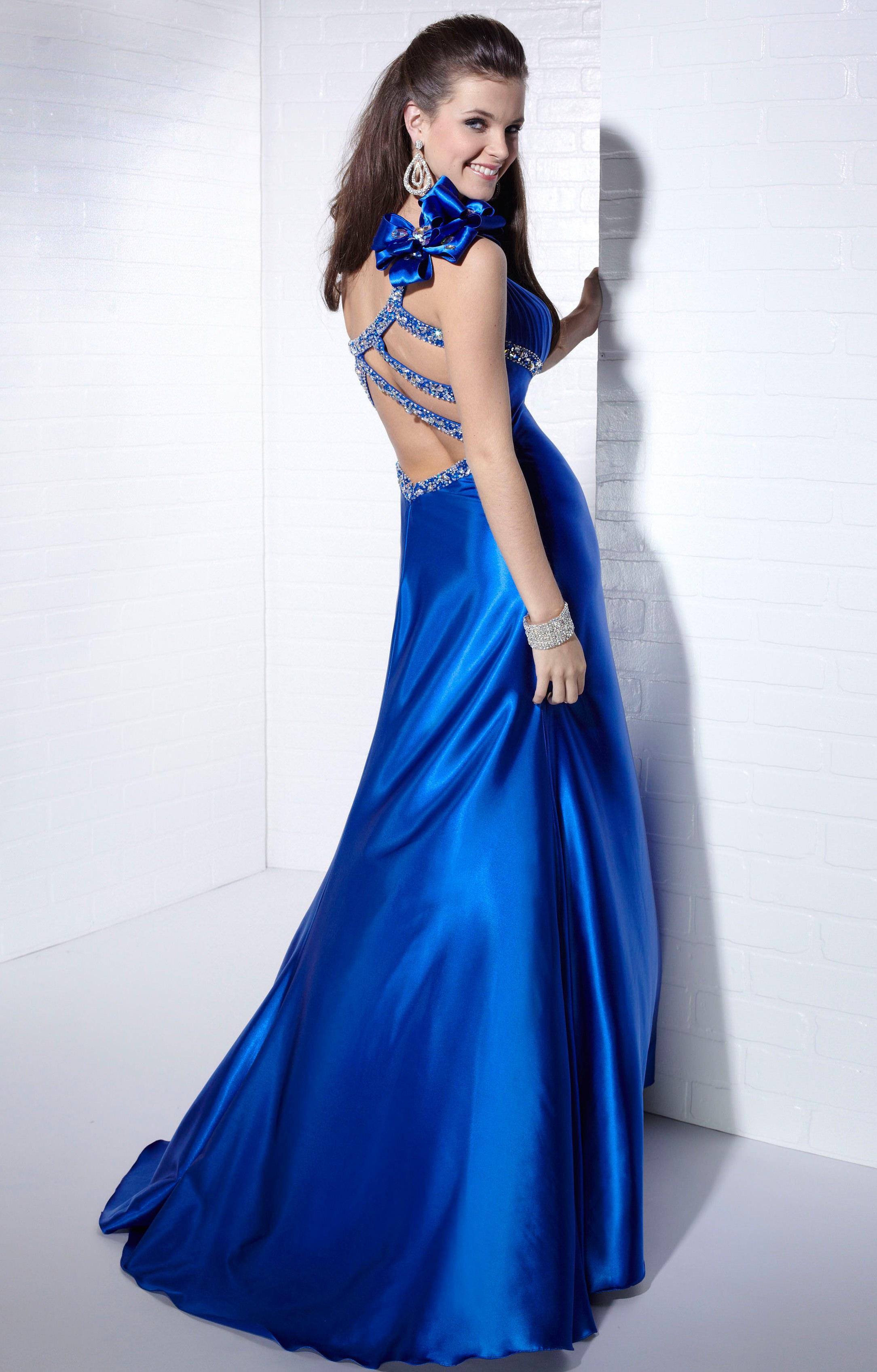 Cobalt Blue Tiffany Prom Dresses