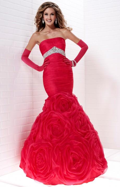 Orange Chiffon Its Fashion Metro Blouses Dark Brown: Elizabeth Taylor Gown Prom Dress