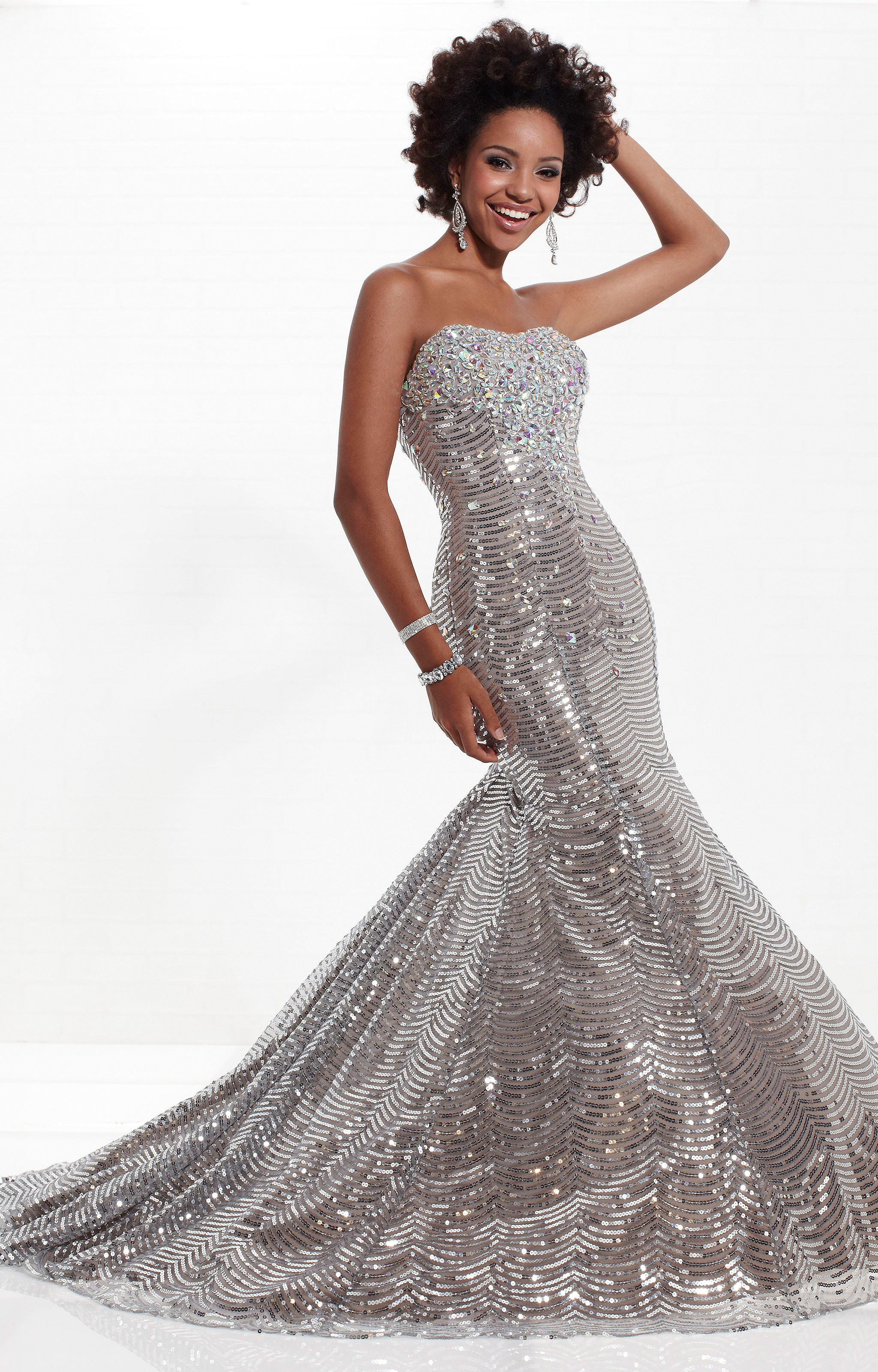 Tiffany Designs 16738 Red Carpet Gown Prom Dress