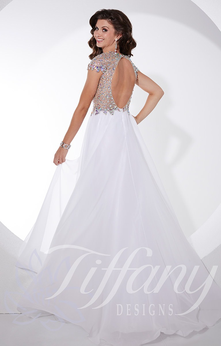 Tiffany Designs 16071 - Hollywood Glamour Gown Prom Dress