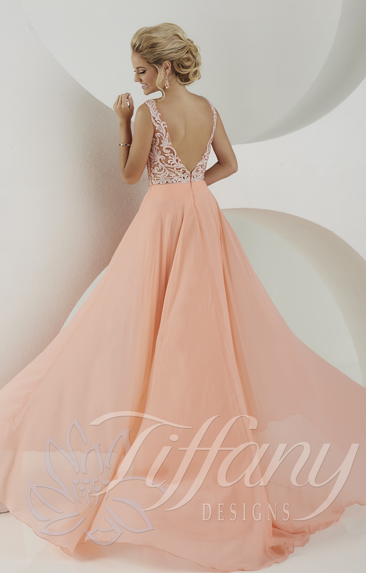 Tiffany Designs 16153 - Your Guardian Angel Gown Prom Dress