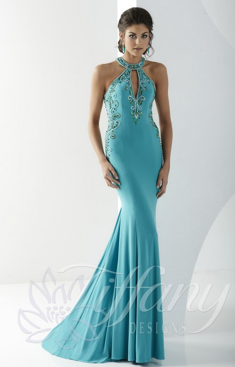 Tiffany Designs 16180 Shake It Up Gown Prom Dress
