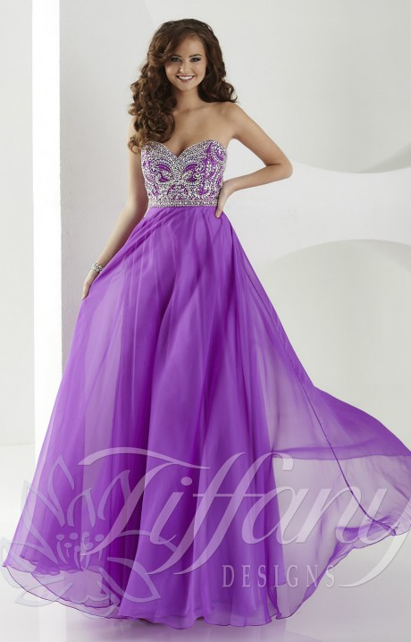 Tiffany Designs 16183 Colors Of The Wind Gown Prom Dress