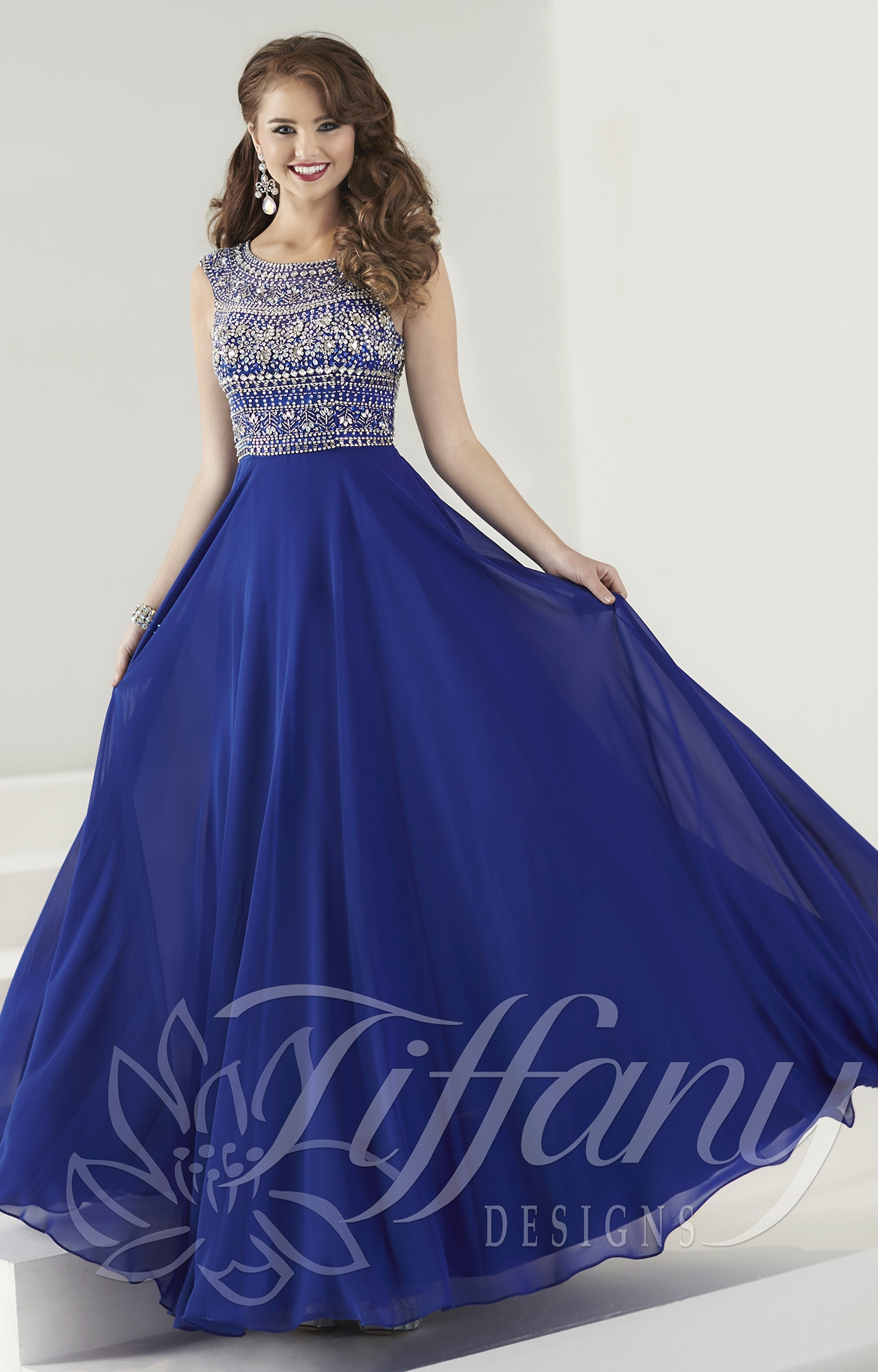 Tiffany Designs 16184 Belle Of The Ball Gown Prom Dress