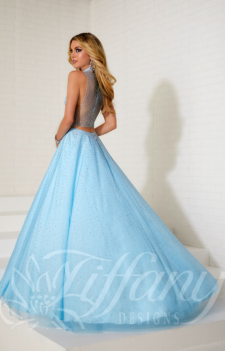 Tiffany Designs 16261 - Sweetheart A-line Ball Gown Prom Dress