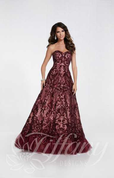 Tiffany Designs 16299 Strapless and Sweetheart picture 1
