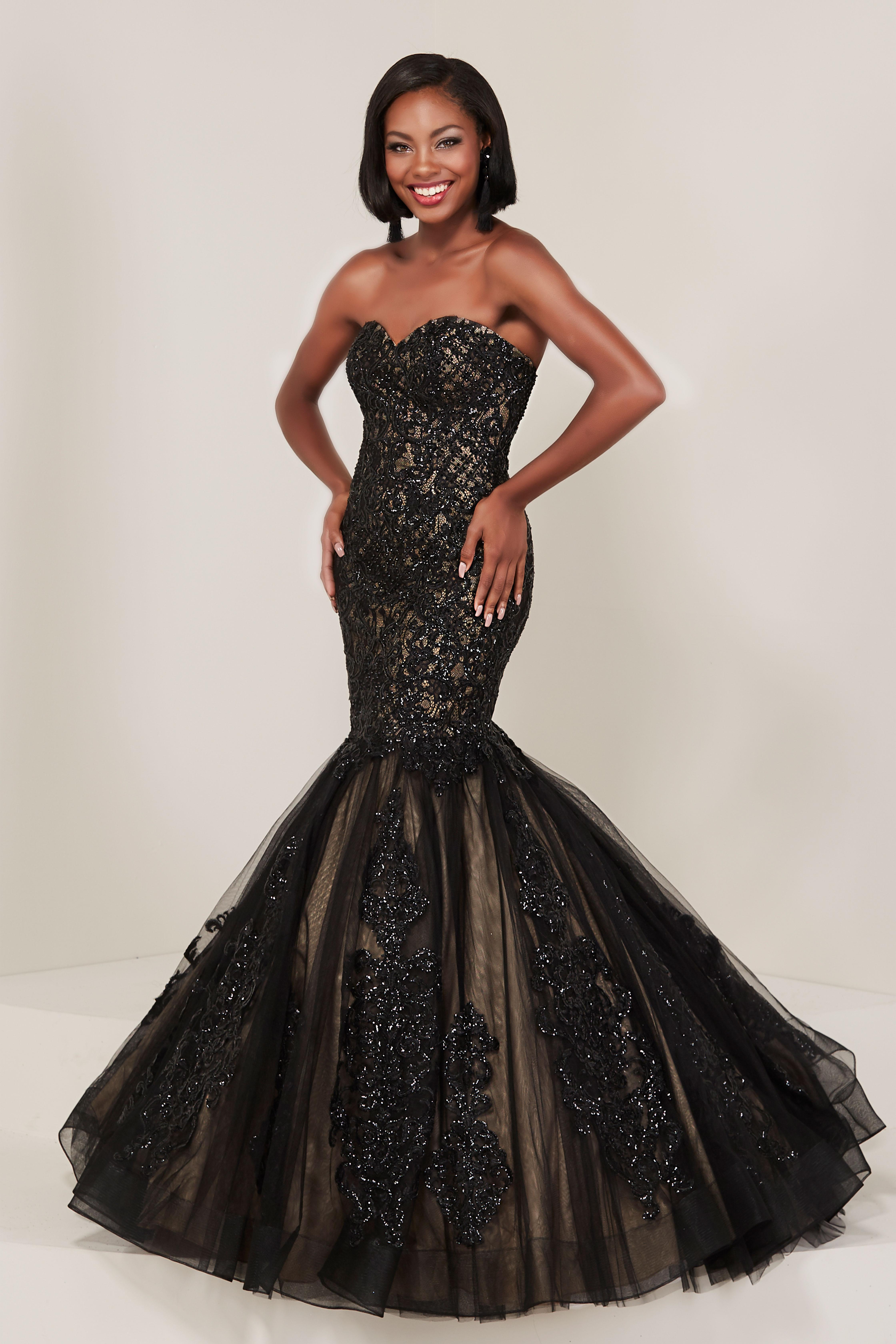 Tiffany Designs 16356 Sweetheart Neckline Mermaid With